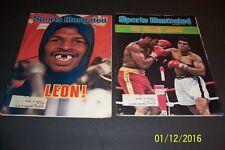 1978 Sports Illustrated MUHAMMAD ALI vs LEON SPINKS Set of 2 THE CHAMP AGAIN