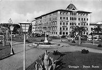 Cartolina - Postcard - Viareggio - Piazza Puccini - 1957 -  VG