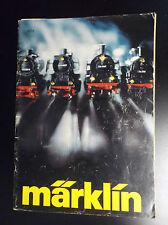 catalogue trains modelisme marklin 1977