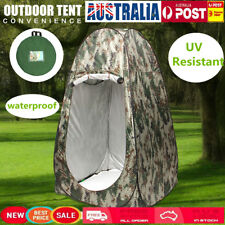 AU Portable Pop Up UV Camping Tent Camp Toilet Outdoor Change Bath Room Shelter