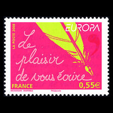 """France 2008 - Europa stamp """"Letters"""" - Sc 3436 MNH"""