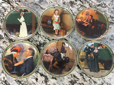 "Norman Rockwell Collector Plates ""Rockwell's American Dream"" (bundle of 6)"