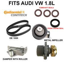VW BEETLE, GOLF, JETTA 1.8 TIMING BELT WATER PUMP KIT VW 1.8 20V  metal impeller