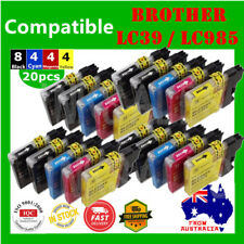 20X Ink Cartridge LC985 LC39 For Brother DCP J315 J515 MFC J220 J265W J410 J415W
