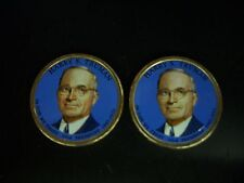 Two 2015 Harry S. Truman Colorized Presidential Dollars P and D Mint Pairs