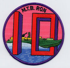 M.T.B. RON 10 - Big 10 with boat  BC Patch Cat. No. B965