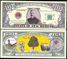 State Of New Mexico Novelty Bills - Lot of 10 Bills