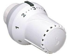 COSMO Thermostatkopf mit und ohne Nullstellung mit Klemmanschluss f. Danfoss