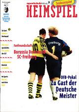 DFB-Pokal 95/96 SC Freiburg - Borussia Dortmund, 04.10.1995
