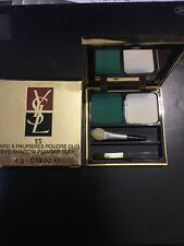 YSL Yves Saint Laurent EYE SHADOW Fard A Paupieres Poudre Duo #85 NIB