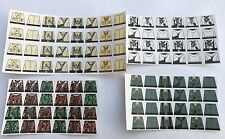 Custom 104 stickers german soldiers WW2 GERMAN 4 armies SIZE - lego torso