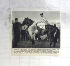1955 Nashua, Eddie Arcaro Up Wins Great Horse Race In Chicago