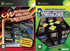 MIDWAY ARCADE TREASURES 1 & 2 ORIGINALE XBOX