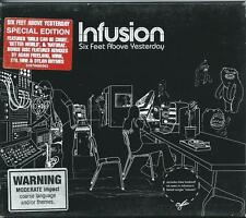 INFUSION *SIX FEET ABOVE YESTERDAY* 2005 OZ SPECIAL ED. SAMPLE  2 CD'S LIKE NEW