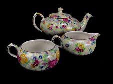 Lord Nelson Ware Rose Time Set / Stackable Tea Pot / Jug / Bowl / Chintz Vintage