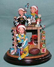 2000 Danbury Mint Nfl Jacksonville Jaguars Elves Fans Football