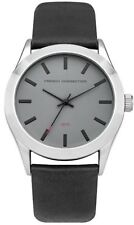 FRENCH CONNECTION Mens SFC109B Quartz Watch with Grey Dial Analogue Display&Box
