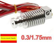 Hotend J Head Extrusor Metal 0.3mm 1.75 E3D Corta Distancia Prusa 3D Printer I86