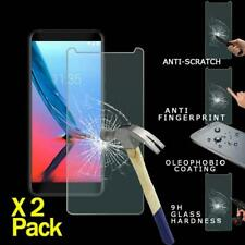 2 Pack Premium Tempered Glass Screen Protector For ZTE Blade V9