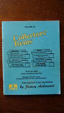 Jamey Aebersold.  Vol. 52.  'Collectors'  Items'