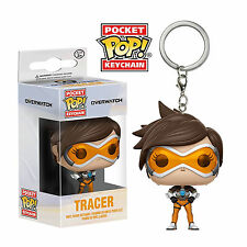 Tracer Overwatch Licensed Funko Pocket POP! Keyring Blizzard PS4 Playstation NEW