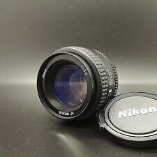 [ Near MINT ] Nikon AF Nikkor 50mm f/1.4 D Standard Lens for F Mount from JAPAN