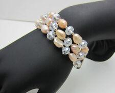 Pearl Alloy Costume Bracelets