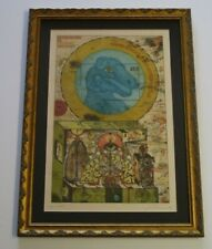 UWE BREMER ETCHING FANTASTIC REALISM SURREALISM ABSTRACT RARE 1970S MODERNIST