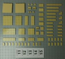 Lego 20x TAN BEIGE 3623 Plate 1 X 3  VGC POSTAGE DISCOUNT
