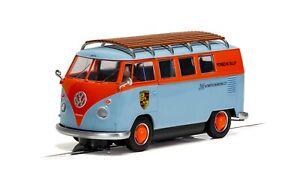 Scalextric C4217 VW T1b Microbus ROFGO Gulf Collection 1/32 Slot Car *DPR*
