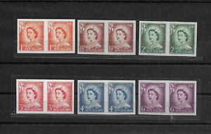 New Zealand,1955,Queen,imperf,compl,MNH,Sc-Mi,not listed