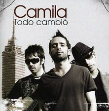 Camila - Todo Cambio [New CD]