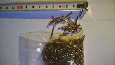 Pointes Laiton Tête Ronde 14 mm par 1,5 mm 75 gr