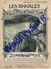 Les annales n°2017 19/02/1922 Shakleton Pôle Sud Pape Pie XI Freud Psychanalyse