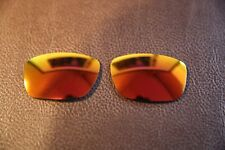PolarLenz Polarized Fire Red Iridium Replacement Lens for-Oakley Tinfoil