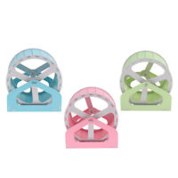 Quiet Running Wheel Hamster Guinea Pig Hedgehogs Exercise Activity Toy