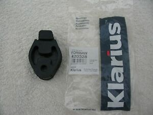 Ford Fiesta Focus C-Max Connect Exhaust Rubber Mounting Klarius FDR55 new x1