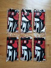 Wilson Redzone Racquetball Gloves, box of 6 Righthand Medium.