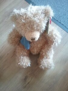 """Keel Simply Soft Collection Brown Teddy Bear Soft Toy 12"""" Vintage Keel Toys"""