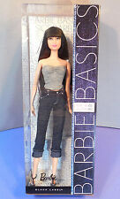 Barbie Basics Doll  Denim Model Muse No. 05 Collection 002 New! Raven Hair