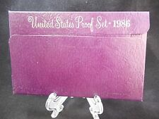 1986 UNITED STATES 5-COIN PROOF SET ORIGINAL PACKAGING