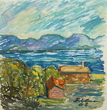 Fritz Bien 1909 Tsingtau (China) - 2001Gevelsberg / Häuser am See