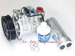 2006-2011 AUDI A6; 2005-2009 A6 Quattro 3.2L OEM GENUINE REMAN A/C COMPRESSOR.