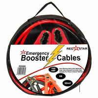Heavy Duty Booster Cables Jump Leads Crocodile Clips 50mm2 X 6M 1800AMP Car Van