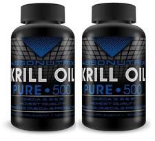 2 Bottle Absonutrix Krill Oil Pure 240 soft gel