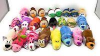 "Disney 3.5"" Tsum Tsum & 5"" Flip-A-Zoo Miniature Plush Bundle Wholesale Lot of 24"