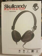 Skullcandy Navigator OnEar Headphones with Mic Black S5AVDM161 -FREE US SHIPPING