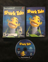 Shark Tale — complete! Manual included! Fast Shipping (PlayStation 2, ps2, 2004)