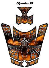 CAN-AM BRP SPYDER RS GS HOOD GRAPHICS KIT CREATORX SPIDERX ORANGE