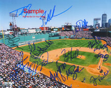 BOSTON RED SOX 2004 TEAM Original SIGNED Autographed 10x8 Photo COA #3